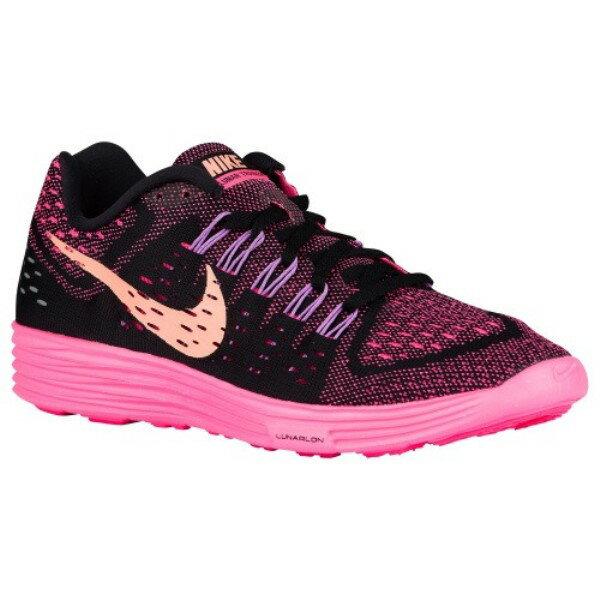ナイキ レディース ランニング・ウォーキング シューズ・靴【Nike LunarTempo】Black/Pink Pow/Fuchsia Glow/Sunset Glow