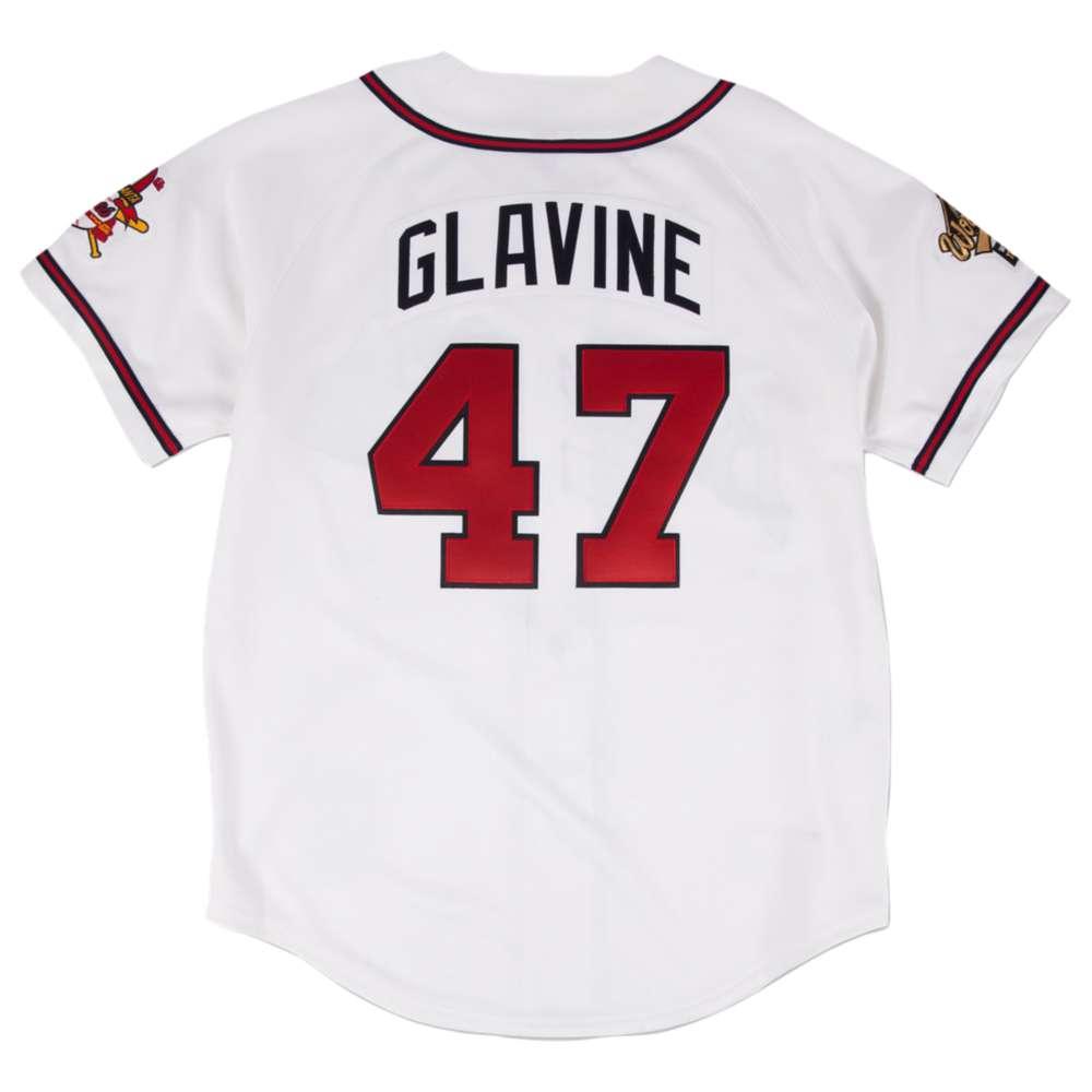 ミッチェル&ネス メンズ トップス Tシャツ【Mitchell & Ness MLB Authenitc Collection Jersey】White