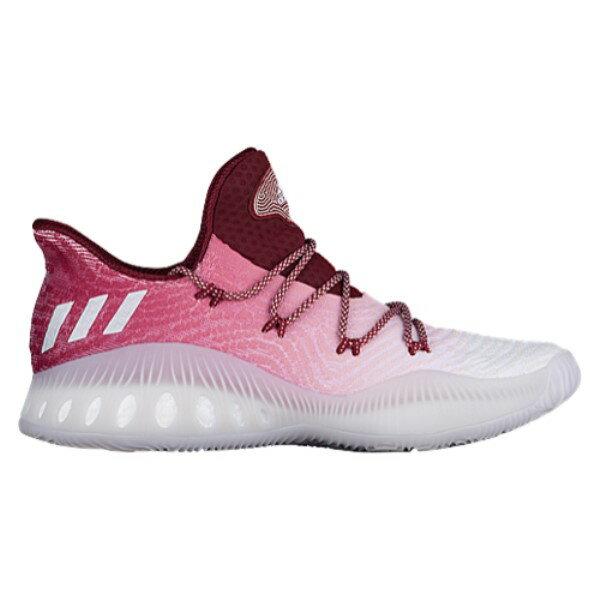 アディダス メンズ �スケットボール シューズ・��adidas Crazy Explosive Low】Burgundy/White