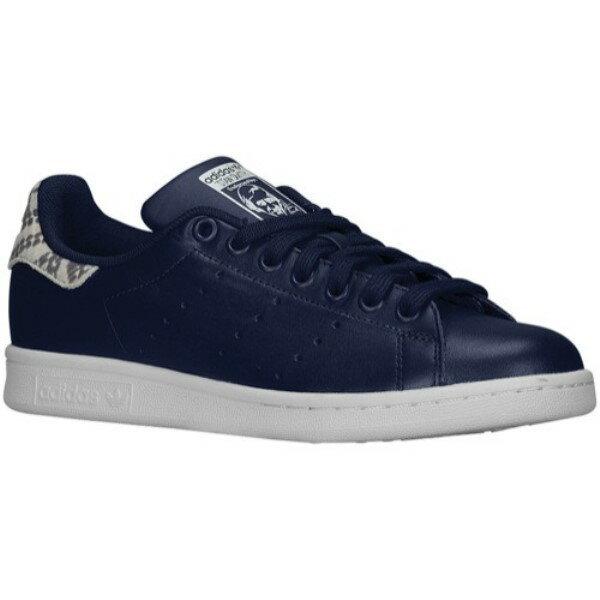アディダス レディース シューズ・靴 スニーカー【adidas Originals Stan Smith】Collegiate Navy/Collegiate Navy/White