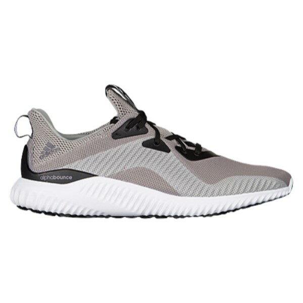 アディダス メンズ ランニング・ウォーキング シューズ・靴【adidas Alphabounce】Solid Grey/White/Black
