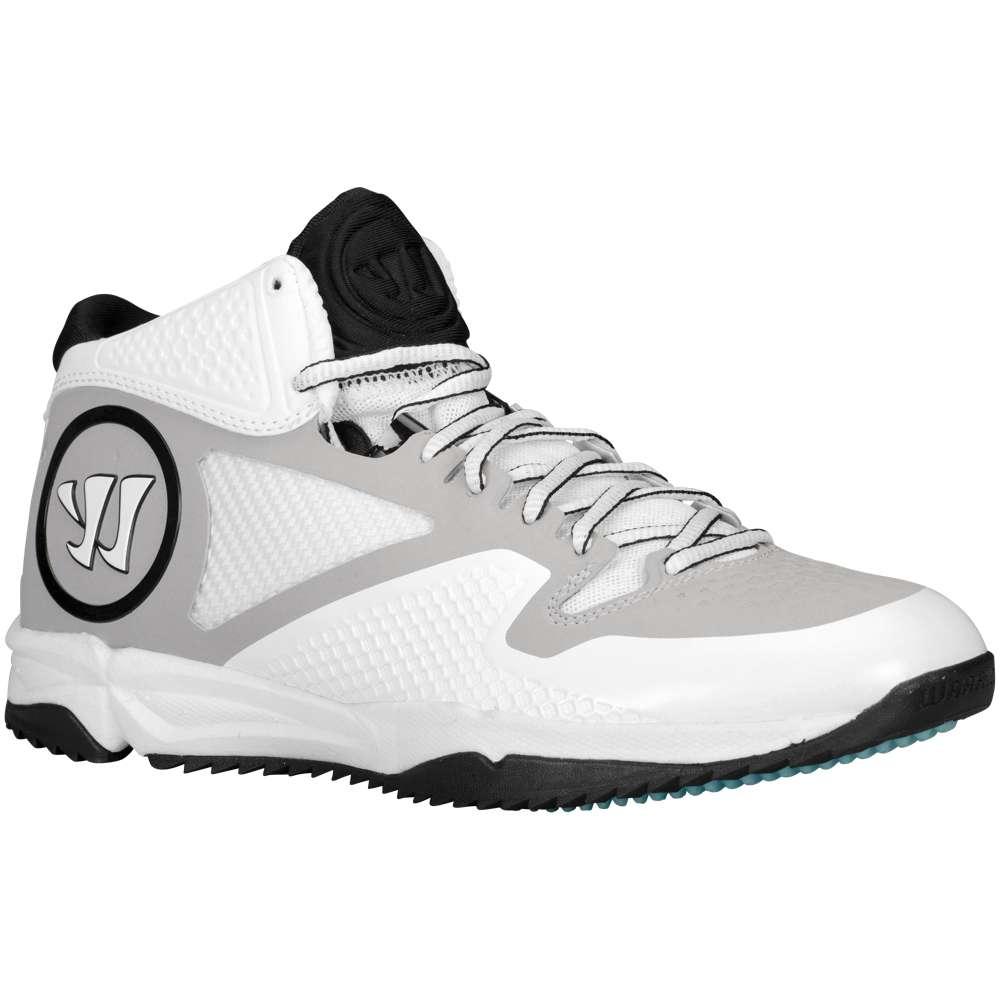 ウォーリアー メンズ ラクロス シューズ・靴【Warrior Adonis Turf Mid】White/Grey