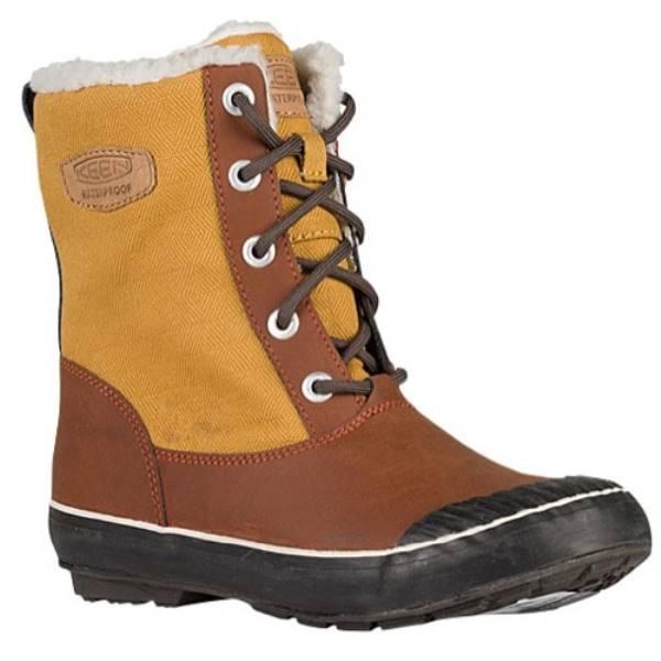 キーン レディース シューズ・靴 ブーツ【Keen Elsa Boot WP】Bronze Mist