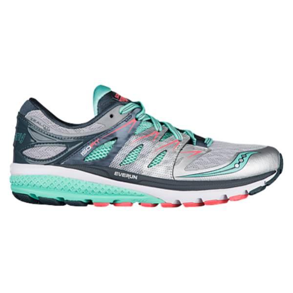 サッカニー レディース ランニング・ウォーキング シューズ・靴【Saucony Zealot ISO 2】Silver/Mint/Coral