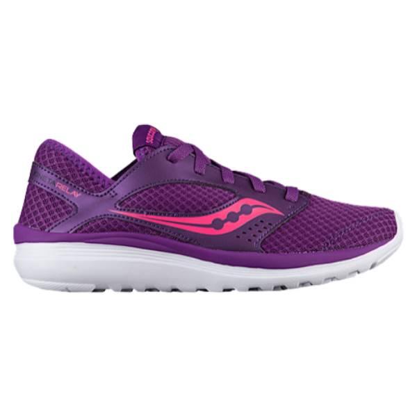 サッカニー レディース ランニング・ウォーキング シューズ・靴【Saucony Kineta Relay】Purple/Pink