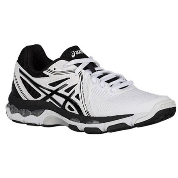 アシックス レディース バレーボール シューズ・靴【ASICS GEL-Netburner Ballistic】White/Black/Silver