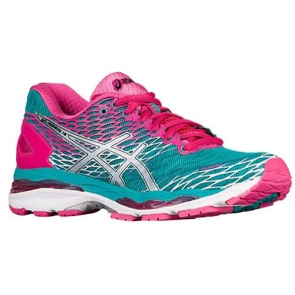 アシックス レディース ランニング・ウォーキング シューズ・靴【ASICS GEL-Nimbus 18】Lapis/Silver/Sport Pink