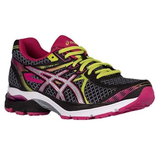 アシックス レディース ランニング・ウォーキング シューズ・靴【ASICS GEL-Flux 3】Black/Silver/Sport Pink