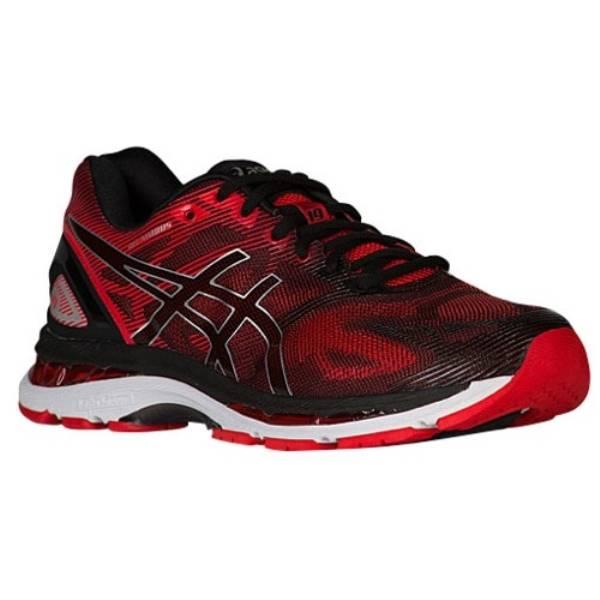 アシックス メンズ ランニング・ウォーキング シューズ・靴【ASICS GEL-Nimbus 19】Black/Onix/Silver