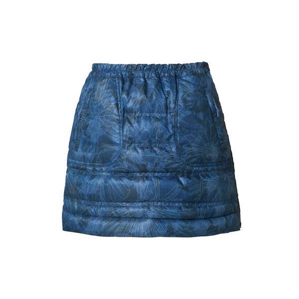 【送料無料】Flower Mixed Down Skirt INDIGO S ( PH562SK71-IND-S / PHE10333601 )【 フェニックス 】【QBH33】