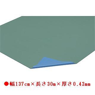 フロアシート 42-30M(ライトグリーン×ブルー) T-2577 (JS78304) 送料ランク【7】 【トーエイライト】【QBH33】
