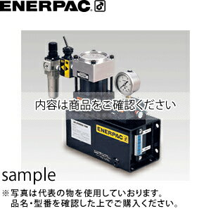 ENERPAC(エナパック) エアハイドロポンプ (65倍 有効油量1.7L 単動シリンダ用) PA07D-06502