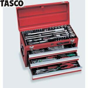 TASCO(タスコ) ツールセット(オートメカニック・メンテナンス用)全86点 TA710BR