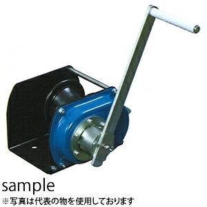 富士製作所 手動ウインチ ポータブルウインチ LHW-500CP 横引きエンドレス作業用