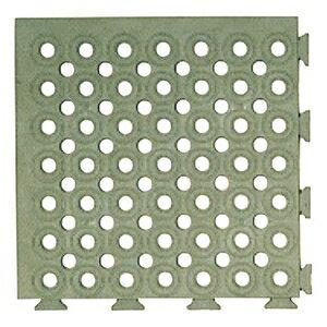 緑十字 ソフトチェッカーマット ソフトチェッカーS(グレー) 32枚(2)1組