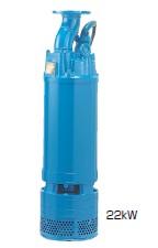 鶴見製作所(ツルミポンプ) 一般工事排水用水中ポンプ ディープウェル用 LH619
