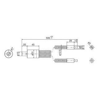 林時計工業 スポットライトガイド LGA2-5L500N :11030