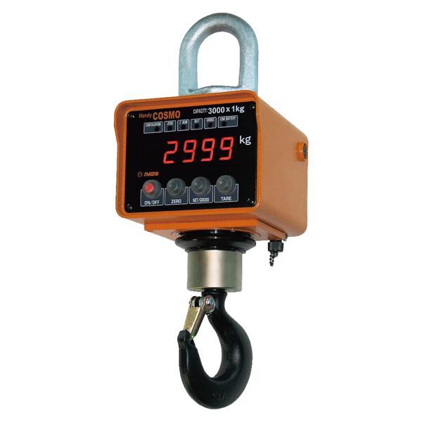 守隨本店 ハンディコスモ電子吊秤リモコン 5ACBE-R (5000KG*2KG) :1460