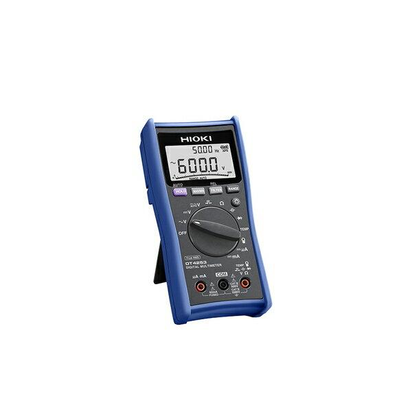 日置電機(HIOKI) DT4253 デジタルマルチメータ((計装用DCmA/温度レンジ搭載)
