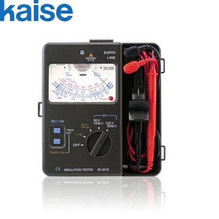 カイセ(Kaise) SK-3012 アナログ絶縁抵抗計 [250V/500V]