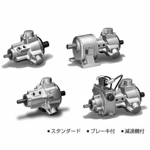 TAIYO ラジアルピストン形エアモータ フランジ形 TAM4-015FG050