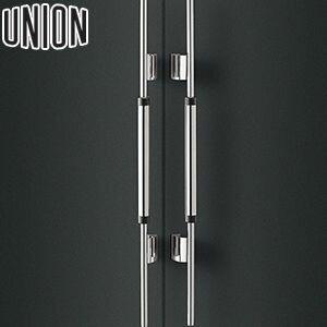 UNION(ユニオン) T6050-06-018 棒タイプ(ミドル/ユニーク) L910mm 1セット(内外) 建築用ドアハンドル[ネオイズム][代引不可商品]