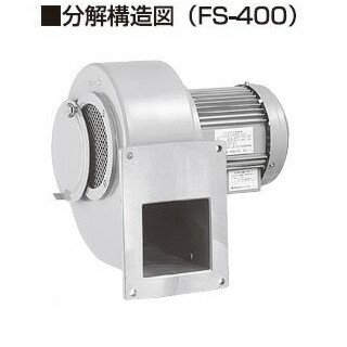 昭和電機 耐圧防爆型電動送風機 MD-FS-2200-R313