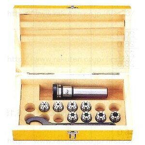 ユキワ精工 ミーリングチャック ニュードリルミルチャック標準セット 品番S-S25-NDC13-135