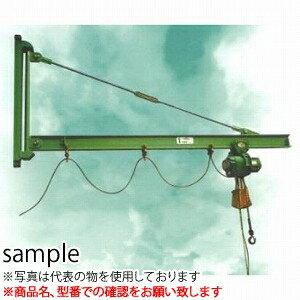 二葉製作所 手動式ジブクレーン(本体のみ)J18-15 1/2T 4M [送料別途お見積り]