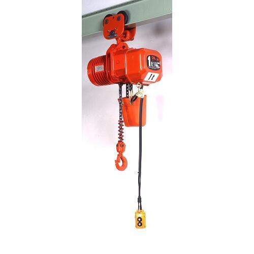 象印 三相200V ブレントロリ式電気チェーンブロック DBP-01W60 1t×6M(低速) 2点押ボタン