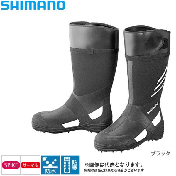 【シマノ】サーマル スパイクブーツ  [ FB-007N ] ブラック LL(26.5~27.0cm)