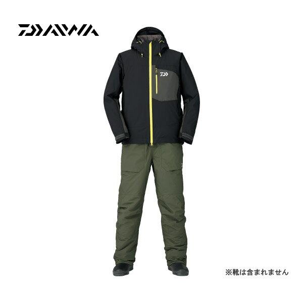在庫限りレインマックス ハイパーストレッチ ウィンタースーツ [ DW-3106 ] ブラック 2XL ダイワ 釣り 防寒着 防寒ウェア