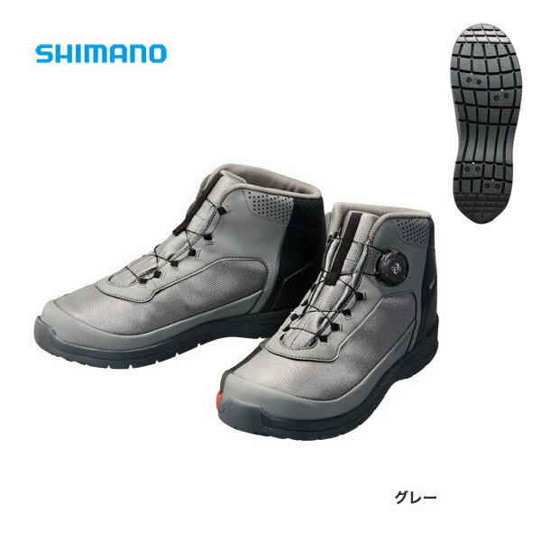 【シマノ】ドライシールド デッキラジアルフィットシューズHW  [ FS-082P ] グレー 26.0cm