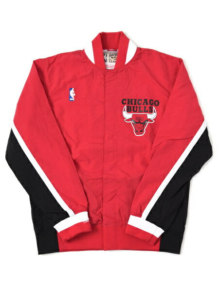【送料無料】MITCHELL & NESS 1992-93 AUTHENTIC WARM UP JKT-BULLS【6056-300-92CBU-RED】