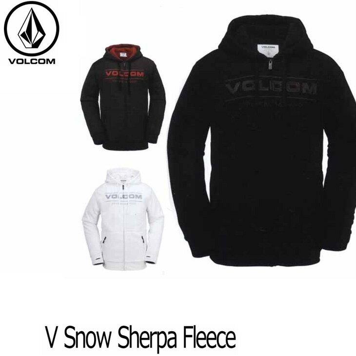 VOLCOM ボルコム パーカー 16-17 HR&S ジップアップ スノーボード 【V Snow Sherpa Fleece 】  日本正規品 【返品種別SALE】