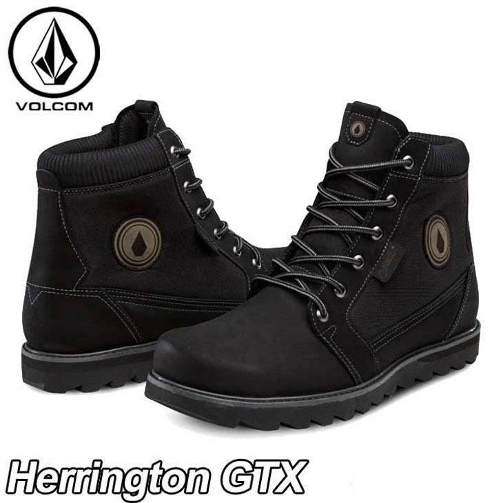 volcom ボルコム スニーカー メンズ 【Herrington GTX 】カラー【BLACK 】  シューズ 靴 ブーツ 【あす楽_年中無休】