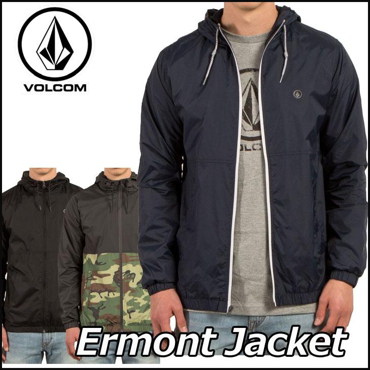 volcom ボルコム ウインドブレーカー ジャケット メンズ 【Ermont Jacket 】 アウター トップス 【メール便不可】