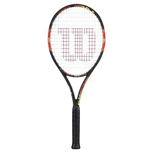 ☆送料無料☆[指定ガット・張り代サービス]BURN 100 /バーン 100(WRT727020X)【WILSON 硬式テニスラケット】