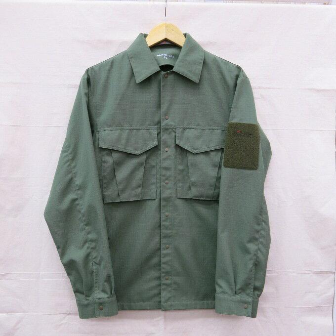 Tilak  Army Shirts L/S ティラック   アーミーシャツ グリーン サイズ:XS【中古】【アウトドア】【四日市 併売品】【129-170811-01USH】