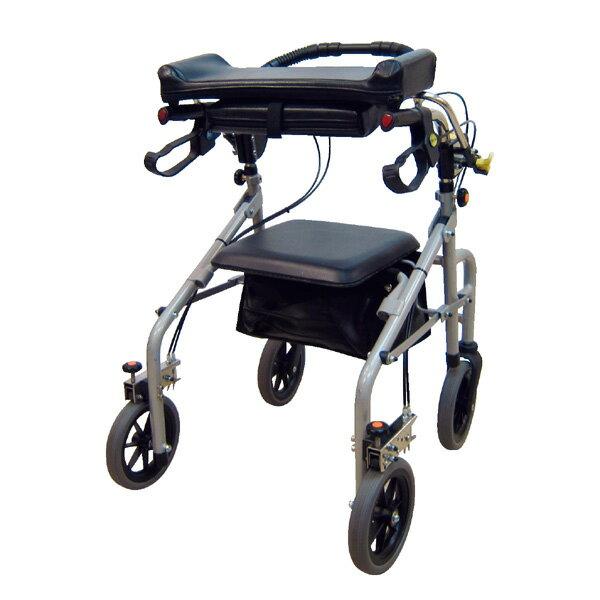 ウェルパートナーズ 歩行補助 ラビット 座面有りタイプ シャロー/狭幅 WA-2 介助器 介助車