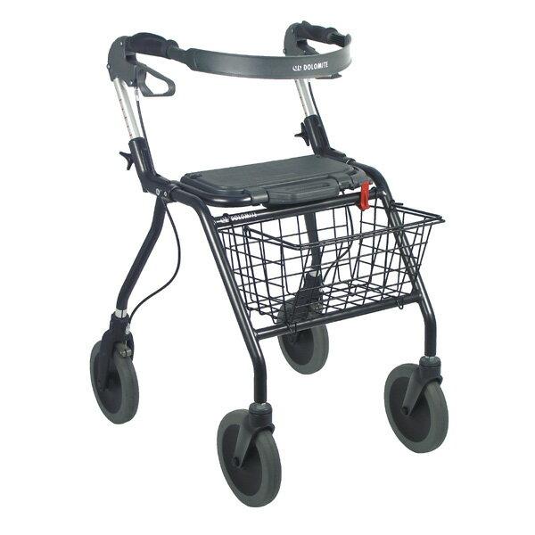 ラックヘルスケア 歩行補助 オパルブラック 介助器 介助車