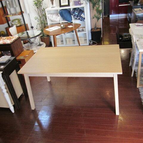 [中古]★モデルルーム展示品★[IKEA]イケアTORANETORPダイニングテーブルナチュラル