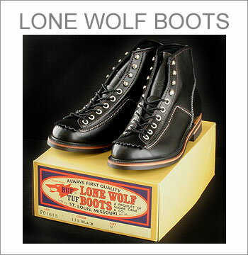 ■ LONE WOLF Leather Boots CARPENTER  STYLE F01615-119