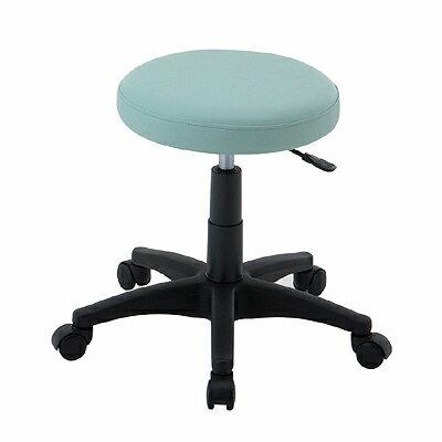 【送料無料】ロアス RZR-102BL 丸椅子 ブルー