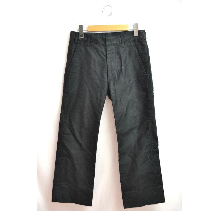 ルイヴィトン パンツ LOUIS VUITTON ブラック レディース 長ズボン ロングパンツ ストレートパンツ サイズ36 【中古】【送料無料】