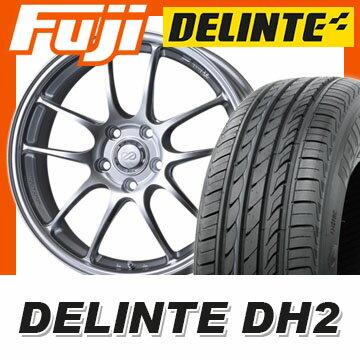 【送料無料】 225/55R18 18インチ ENKEI エンケイ PF01 7J 7.00-18 DELINTE デリンテ DH2(限定) サマータイヤ ホイール4本セット
