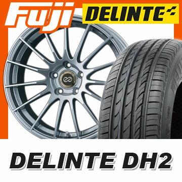 【送料無料】 225/50R18 18インチ ENKEI エンケイ RS-05 7.5J 7.50-18 DELINTE デリンテ DH2(限定) サマータイヤ ホイール4本セット
