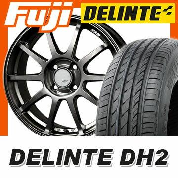 【送料無料 ノート】 185/65R15 15インチ SSR GTV02 6.5J 6.50-15 DELINTE デリンテ DH2(限定) サマータイヤ ホイール4本セット