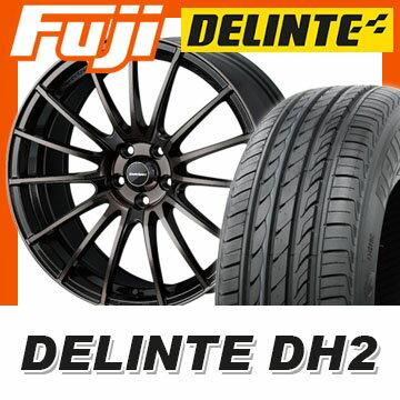 【送料無料】 225/55R18 18インチ WEDS ウェッズスポーツ SA-15R 7.5J 7.50-18 DELINTE デリンテ DH2(限定) サマータイヤ ホイール4本セット