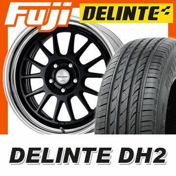 【送料無料】 225/40R18 18インチ WORK ワーク シーカー FX 7.5J 7.50-18 DELINTE デリンテ DH2(限定) サマータイヤ ホイール4本セット